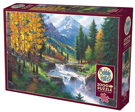 PUZZLE 2000PC - ROCKY MOUNTAIN - 89002