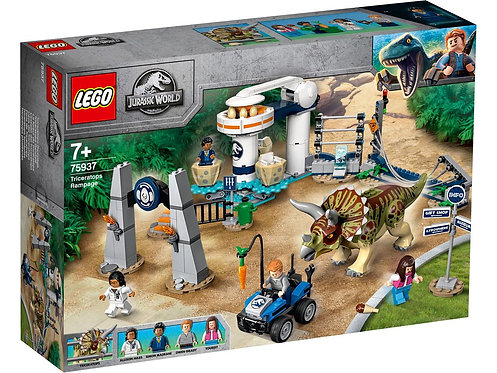 LEGO® JURASSIC WORLD - TRICERATOPS RAMPAGE - 75937