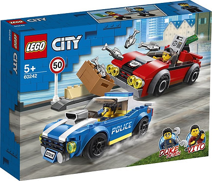LEGO® CITY - POLICE HIGHWAY ARREST - 60242