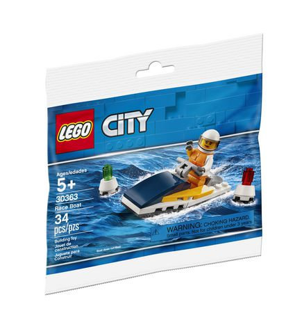 LEGO® CITY - 30363 RACE BOAT RECRUITMENT PACKET