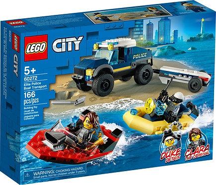 LEGO® CITY - ELITE POLICE BOAT TRANSPORT - 299.90