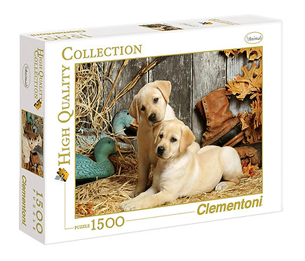 1500PC PUZZLE - HUNTING DOGS - 31976