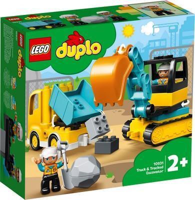 LEGO® DUPLO - TRUCK & TRACKED EXCAVATOR - 10931
