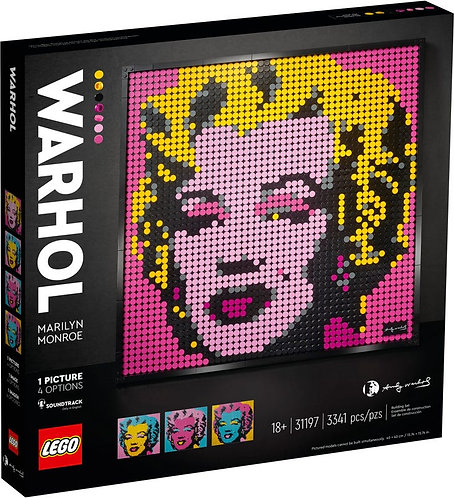 LEGO® ART - MARILYN MONROE