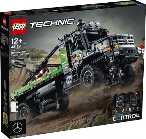 LEGO® TECHNIC - 4X4 MERCEDES-BENZ ZETROS TRAIL TRUCK - 42129
