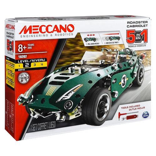 MECCANO - 5 MODEL SET - PULLBACK CAR - 0176