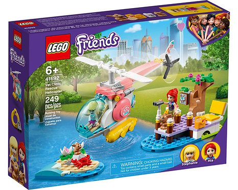 LEGO® FRIENDS - VET CLINIC RESCUE HELICOPTER - 41692