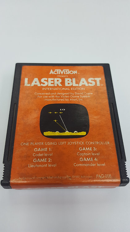 ATARI® GAME CARTRIDGE - LASER BLAST