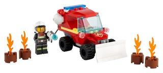 LEGO® CITY - FIRE HAZARD TRUCK - 60279
