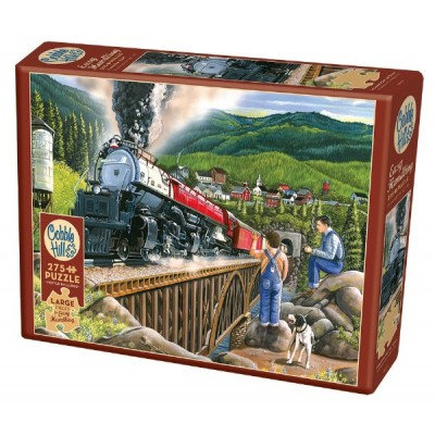 275PC PUZZLE - STEAMING OUT OF TOWN - 88009