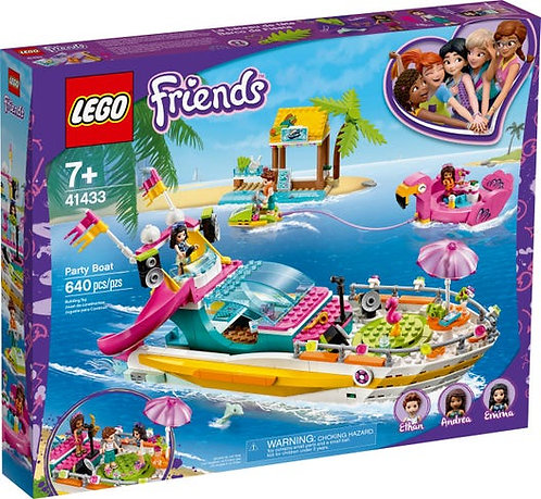 LEGO® FRIENDS - PARTY BOAT - 41433