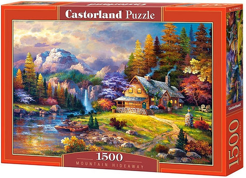 1500PC PUZZLE - MOUNTAIN HIDEAWAY - 151462