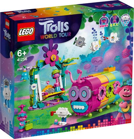 LEGO® TROLLS WORLD TOUR - RAINBOW CATERBUS - 41256