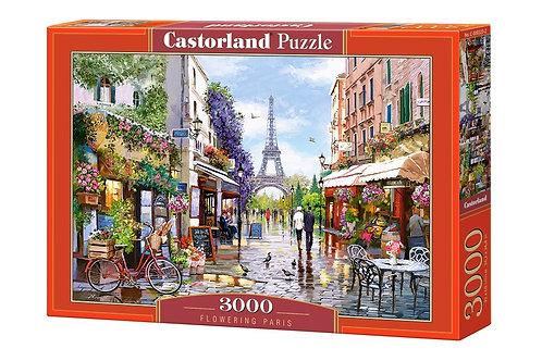 3000PC PUZZLE - FLOWERING PARIS - 300525