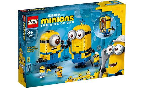LEGO® MINIONS - BRICK-BUILT MINIONS  AND THEIR LAIR  - 75551