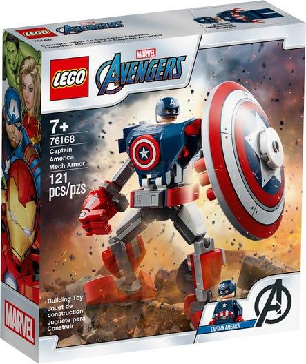 LEGO® SUPER HEROES - CAPTAIN AMERICA MECH ARMOR - 76168