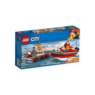 LEGO® CITY - DOCK SIDE FIRE