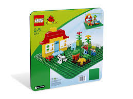 LEGO® DUPLO - LARGE GREEN BUILDING PLATE