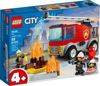 LEGO® CITY - FIRE LADDER TRUCK - 60280