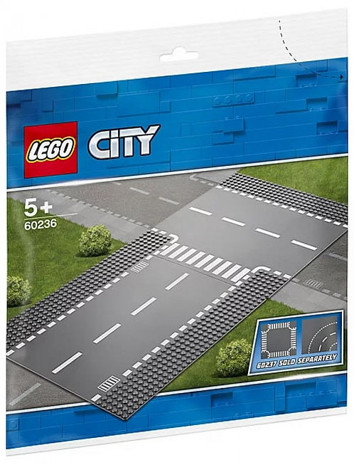 LEGO® CITY - STRAIGHT AND T-JUNCTION