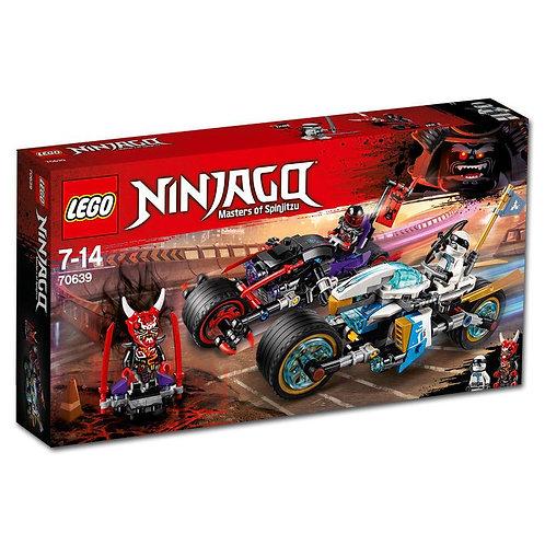 LEGO® NINJAGO - STREET RACE OF SNAKE JAGUAR