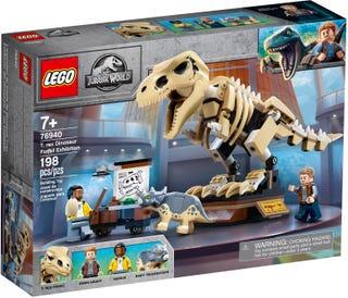 LEGO® JURASSIC WORLD - T.REX DINOSAUR FOSSIL EXHIBITION - 76940