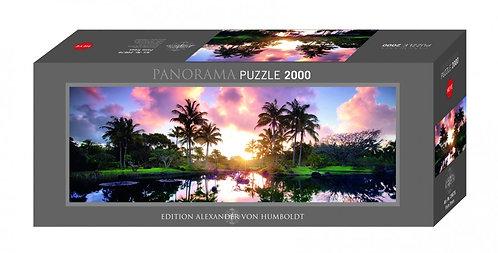 2000PC PUZZLE - PALM TREES - 29676