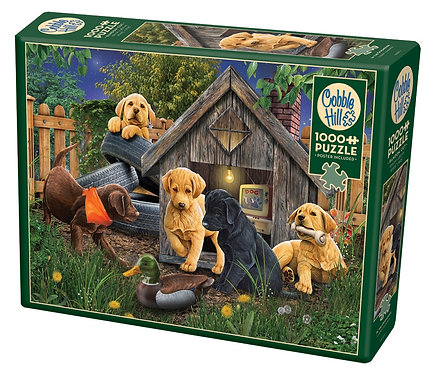 1000PC PUZZLE - IN THE DOGHOUSE - 80271
