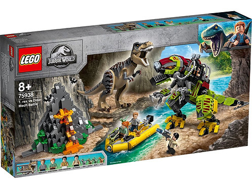 LEGO® JURASSIC WORLD - T.REX vs DINO-MECH BATTLE