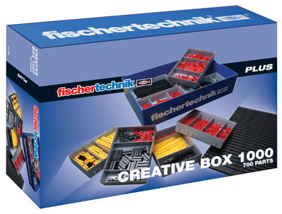 FISCHER TECHNIK - PLUS - CREATIVE BOX 1000