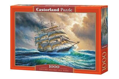 1000PC PUZZLE - SAILING AGAINST ALL ODDS - 104529