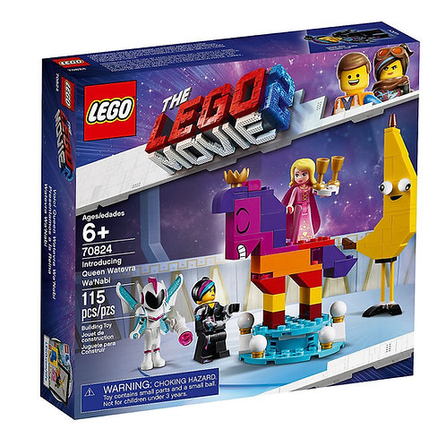 LEGO® THE LEGO MOVIE 2 - INTRODUCING QUEEN WATEVRA WA'NABI