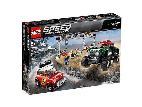 LEGO® SPEED CHAMPIONS - 1967 MINI COOPER S RALLY AND 2018 MINI JOHN COOPER