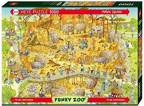 1000PC PUZZLE - AFRICAN HABITAT - 29639