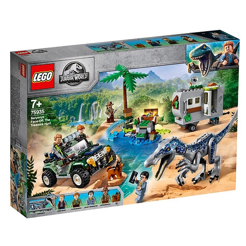 LEGO® JURASSIC WORLD - BARYONYX FACE-OFF: THE TREASURE HUNT - 75935