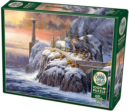 1000PC PUZZLE - WINTER LIGHTHOUSE - 80026