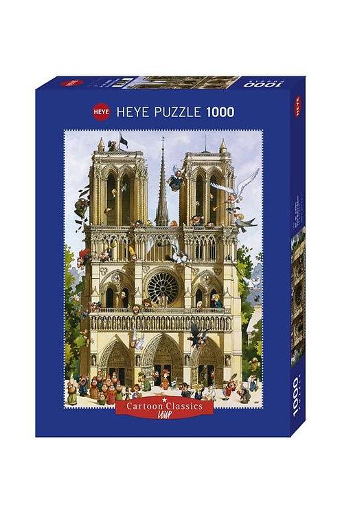 1000PC PUZZLE - VIVE NOTRE DAME - 29905