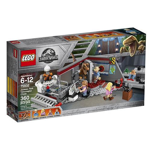 LEGO® JURASSIC WORLD - JURASSIC PARK VELOCIRAPTOR CHASE