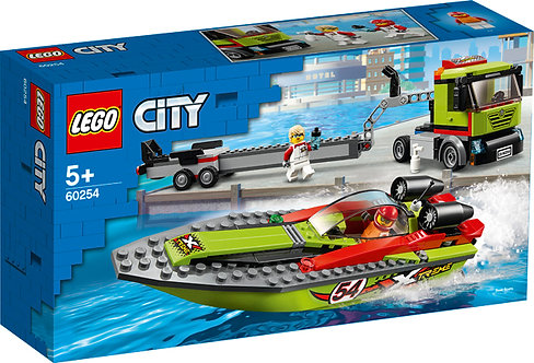 LEGO® CITY - RACE BOAT TRANSPORTER - 60254