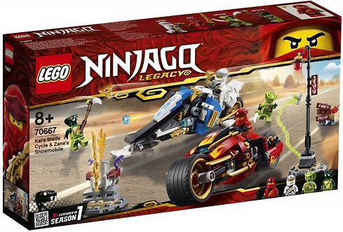 LEGO® NINJAGO - KAI'S BLADE CYCLE & ZANE'S SNOWMOBILE
