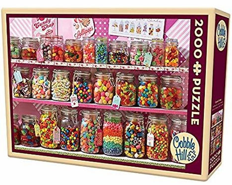 2000PC PUZZLE - CANDY STORE - 89008