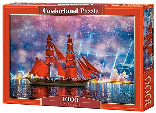 1000PC PUZZLE - RED FRIGATE - 104482