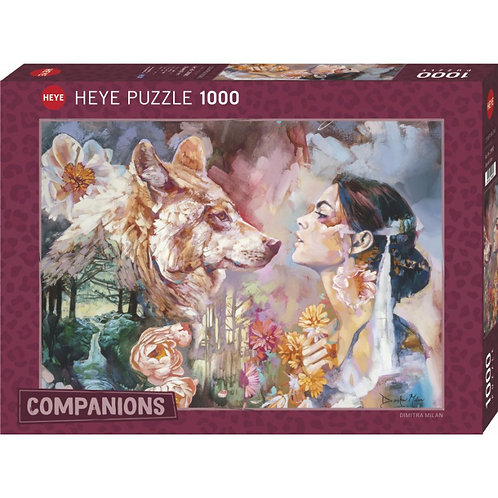 1000PC PUZZLE SHARED RIVER 29960