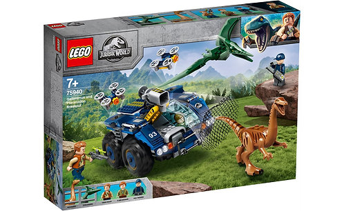 LEGO® JURASSIC WORLD - GALLIMIMUS AND PTERANODON BREAKOUT - 75940