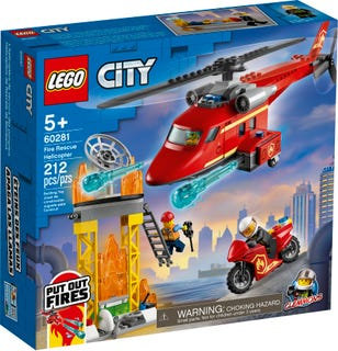 LEGO® CITY - FIRE RESCUE HELICOPTER - 60281
