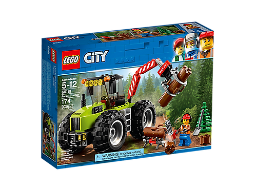 LEGO® CITY - FOREST TRACTOR