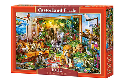1000PC PUZZLE - COMING TO ROOM - 104321