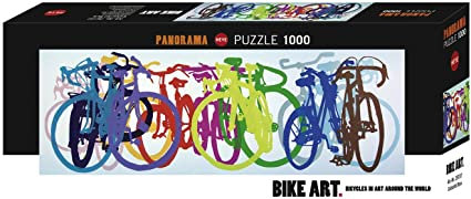 1000PC PUZZLE - COLOURFUL ROW - 29737