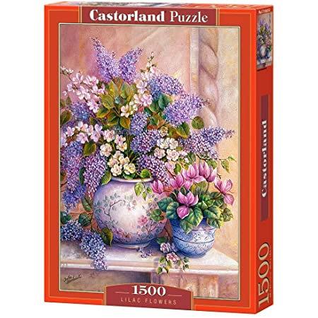 1500PC PUZZLE - LILAC FLOWERS 151653