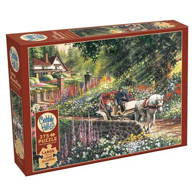 275PC PUZZLE - CARRIAGE RIDE - 88028